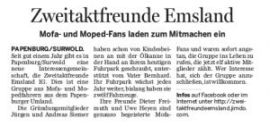 Ems-Zeitung vom 2. April 2016